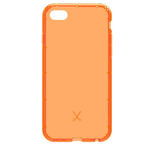 Philo Airshock Case for iPhone 8, iPhone 7 (orange)
