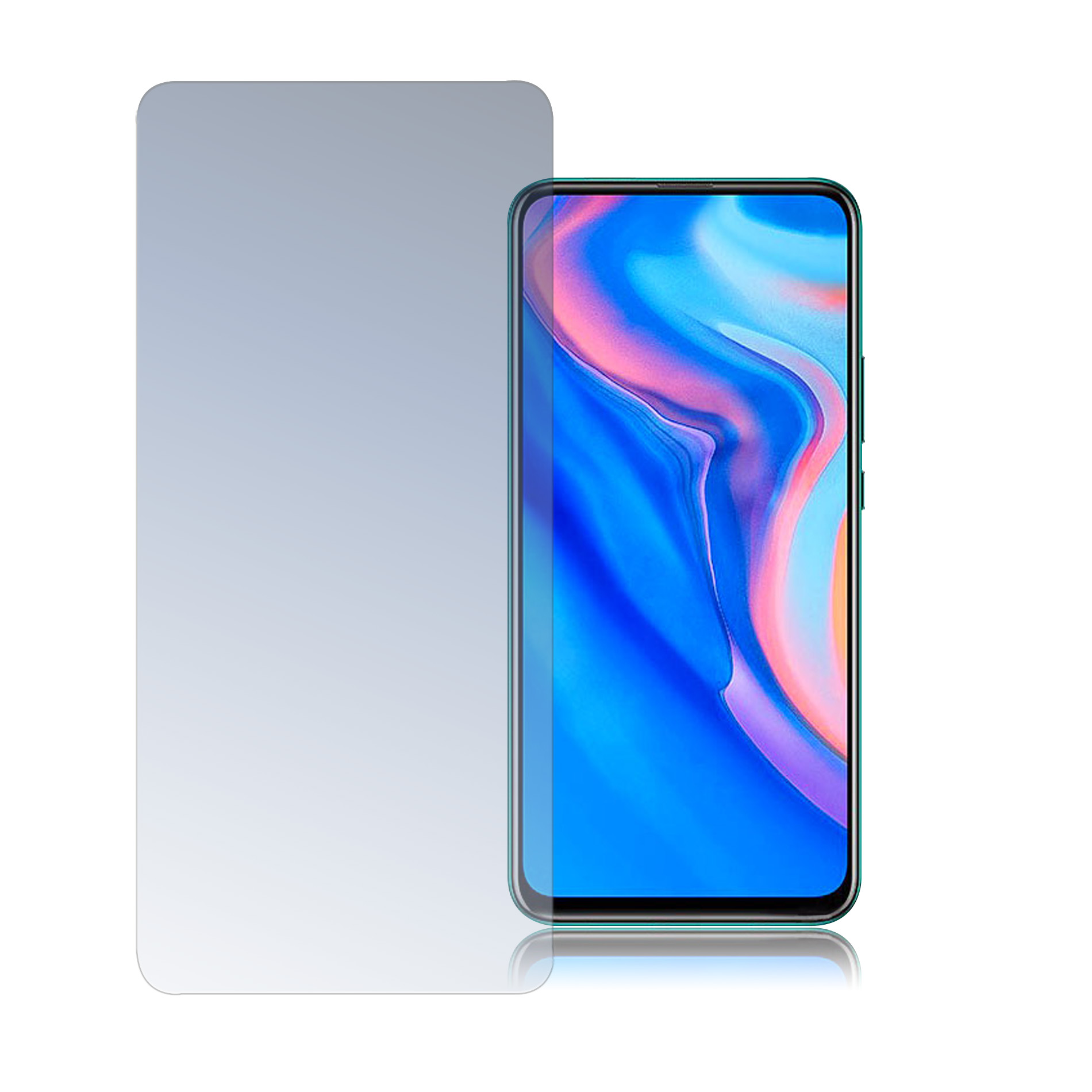 4smarts Second Glass Limited Cover for Huawei Y9 Prime (2019) (clear)