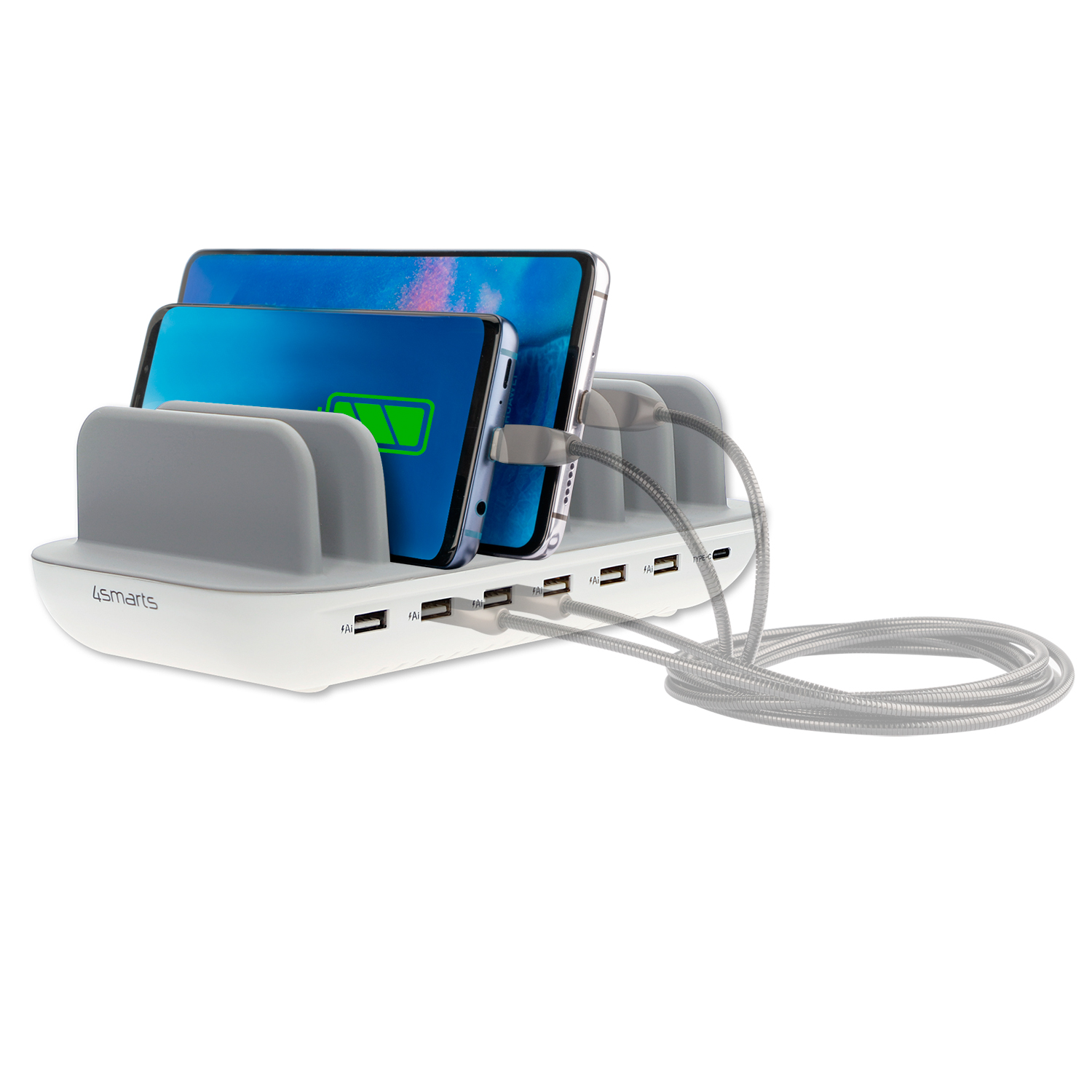 4smarts Charging Station Office with 60W (white)