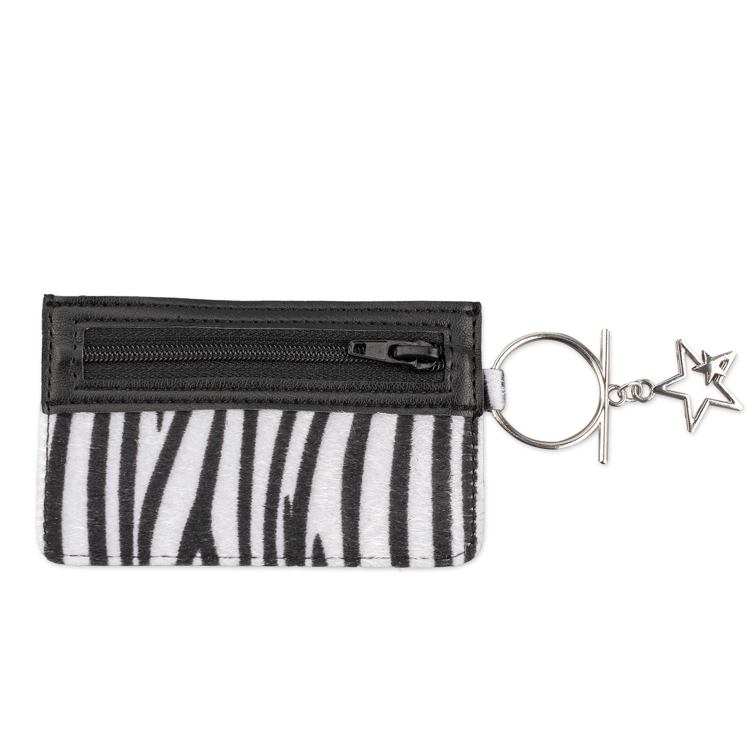 4smarts DressUP Zip with Finger Ring (zebra)