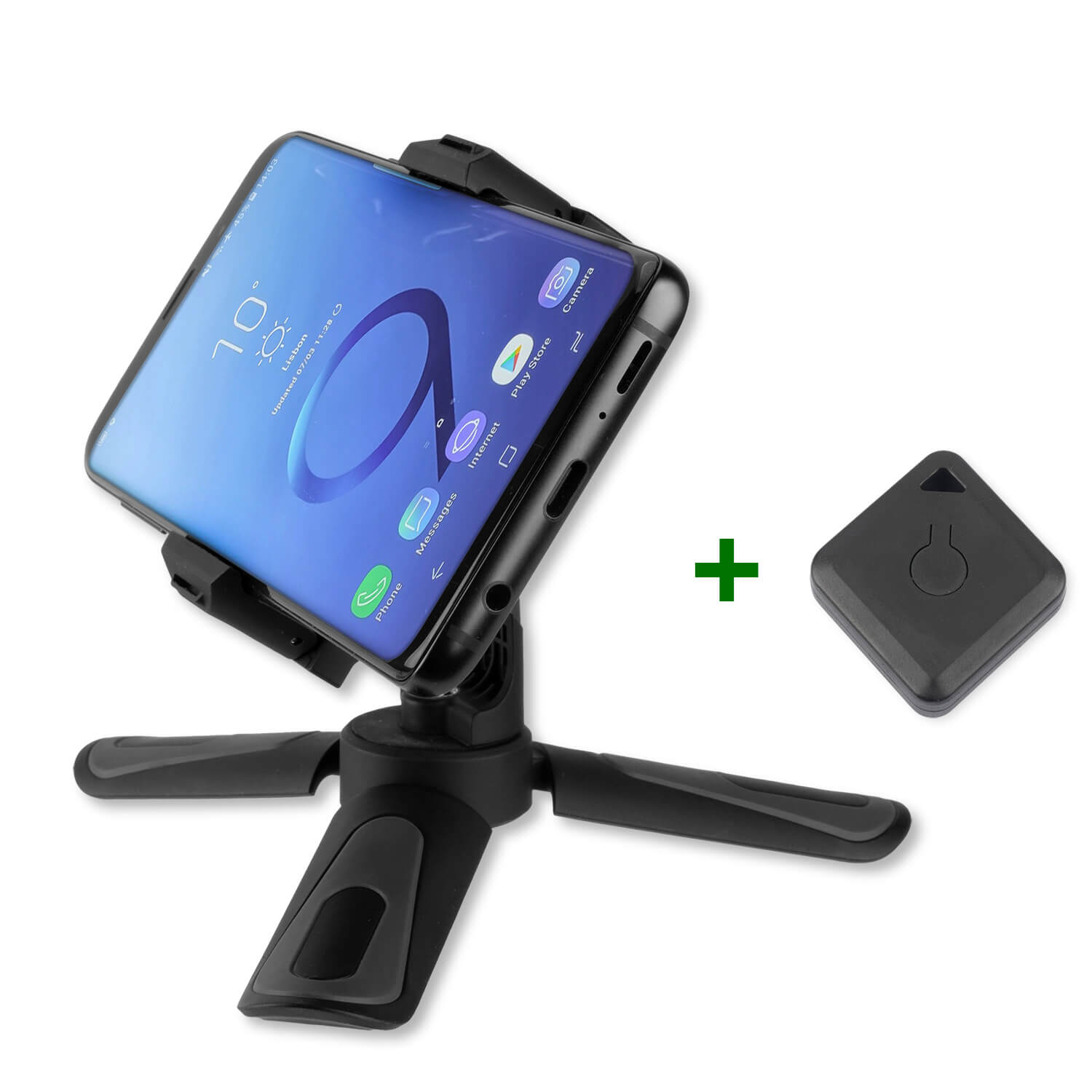 4smarts Pocket Tripod with Bluetooth Controller (black)