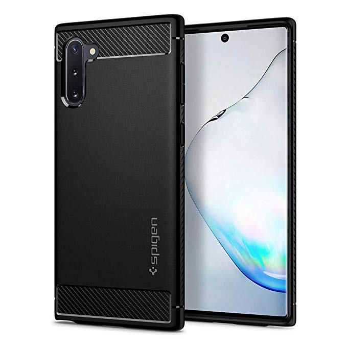 Spigen Rugged Armor Case for Samsung Galaxy Note 10 (matte black)