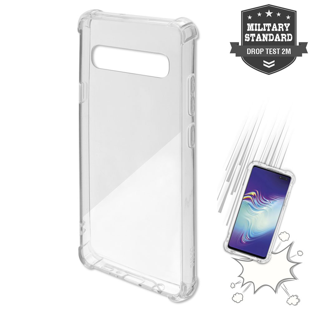 4smarts Hard Cover Ibiza for Samsung Galaxy S10 5G (clear)