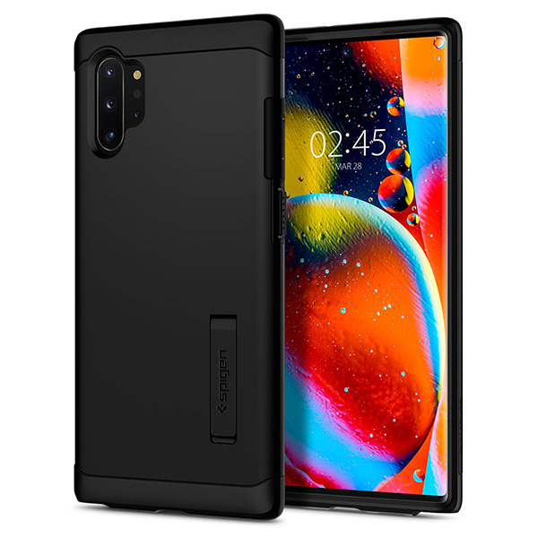 Spigen Slim Armor Case for Samsung Galaxy Note 10 Plus (black)