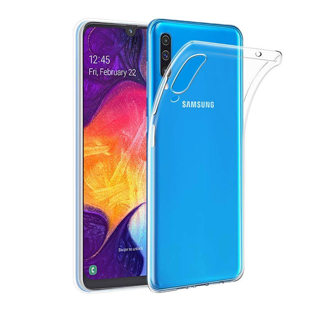 Case FortyFour No.1 Case for Samsung Galaxy A50 (clear)