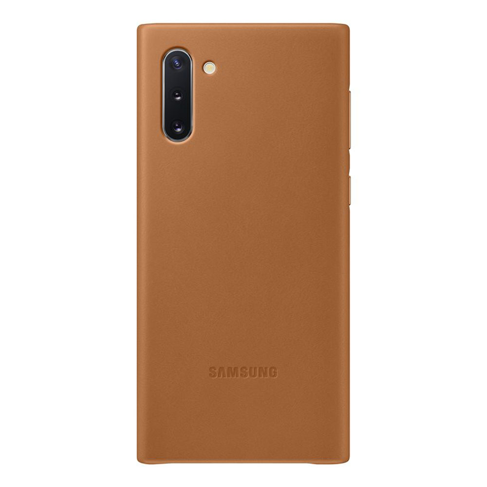 Samsung Leather Cover EF-VN970LAEGWW for Samsung Note 10 (brown)