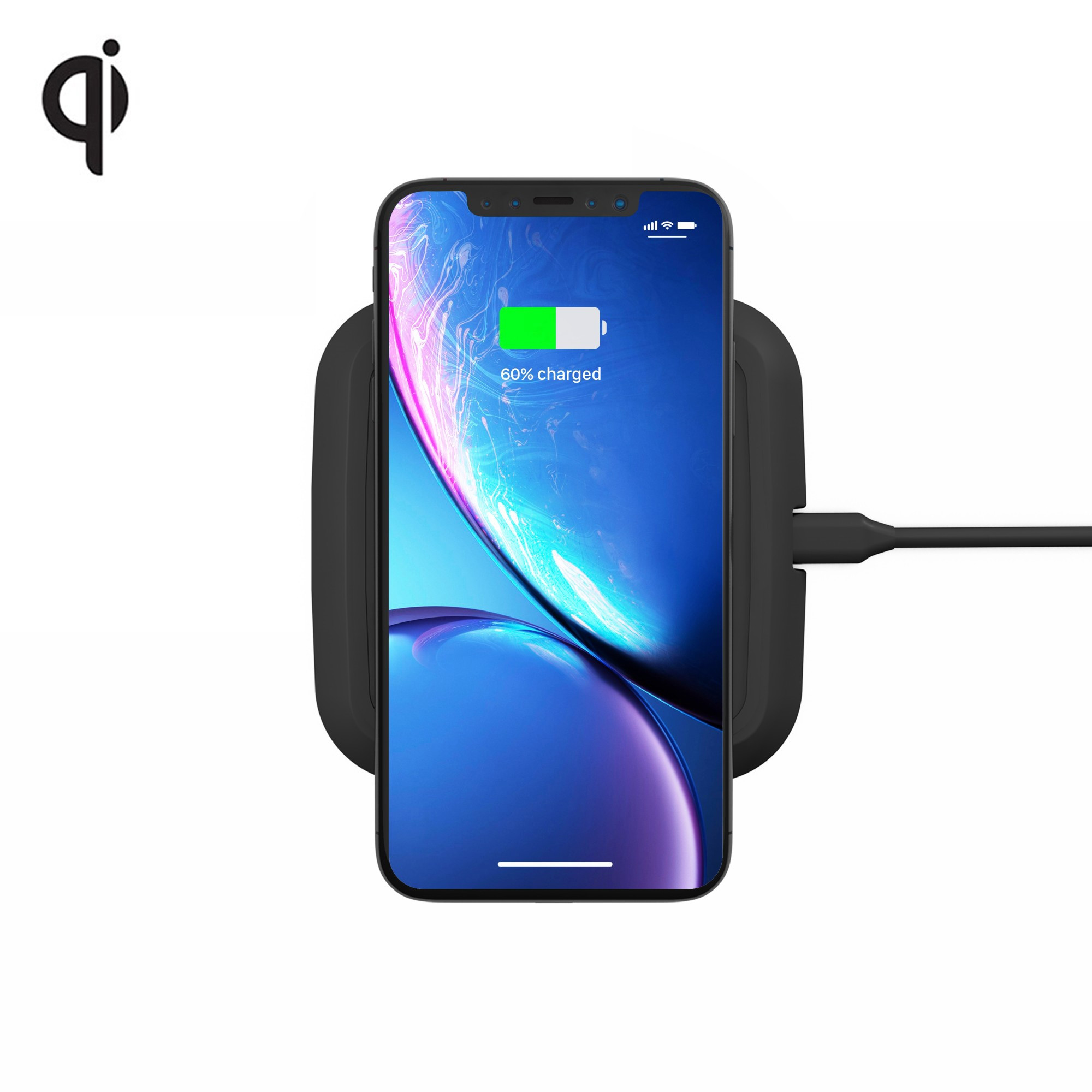 Zens Single Wireless Charger 5W ZESC09B - (black)