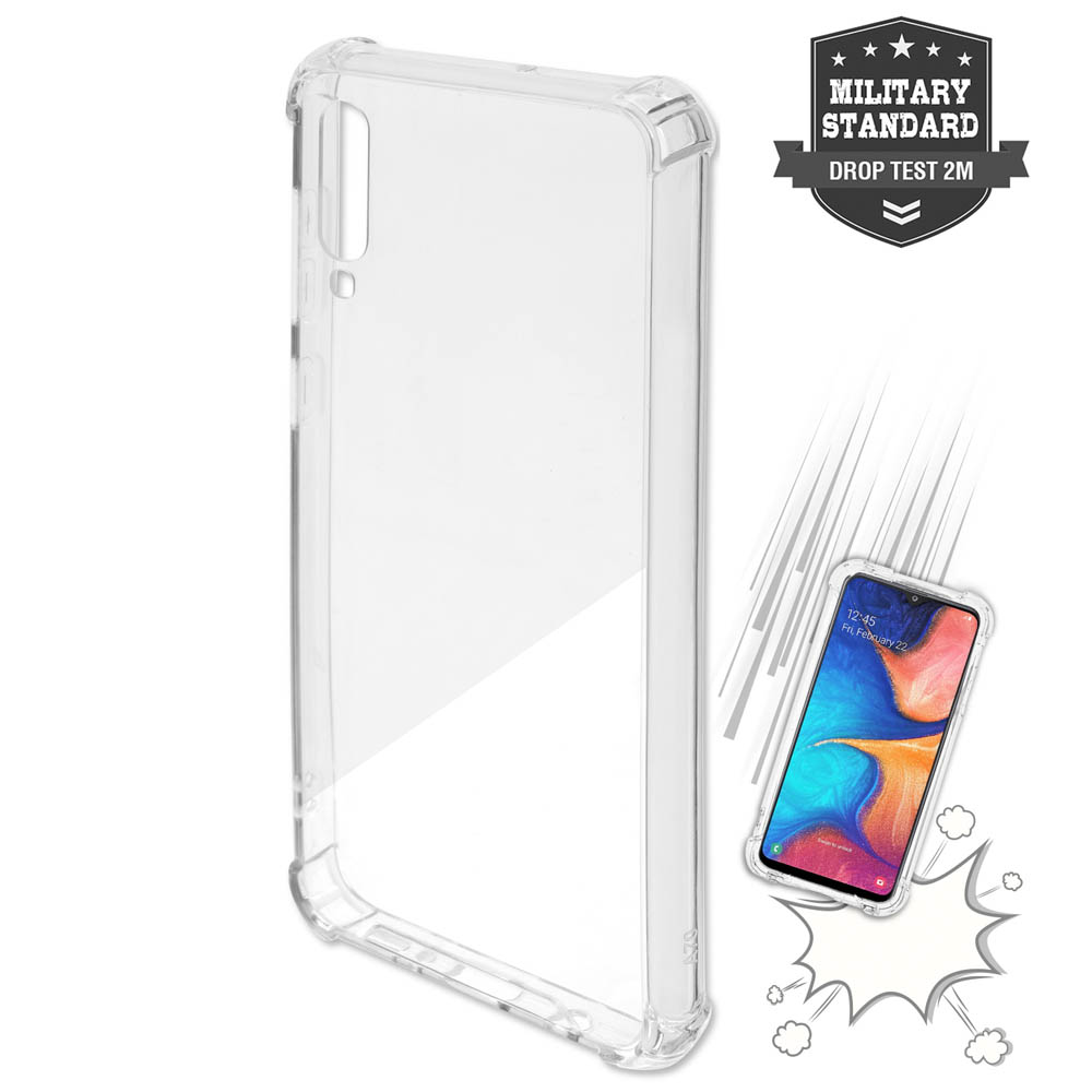 4smarts Hard Cover Ibiza for Samsung Galaxy A80 (clear)