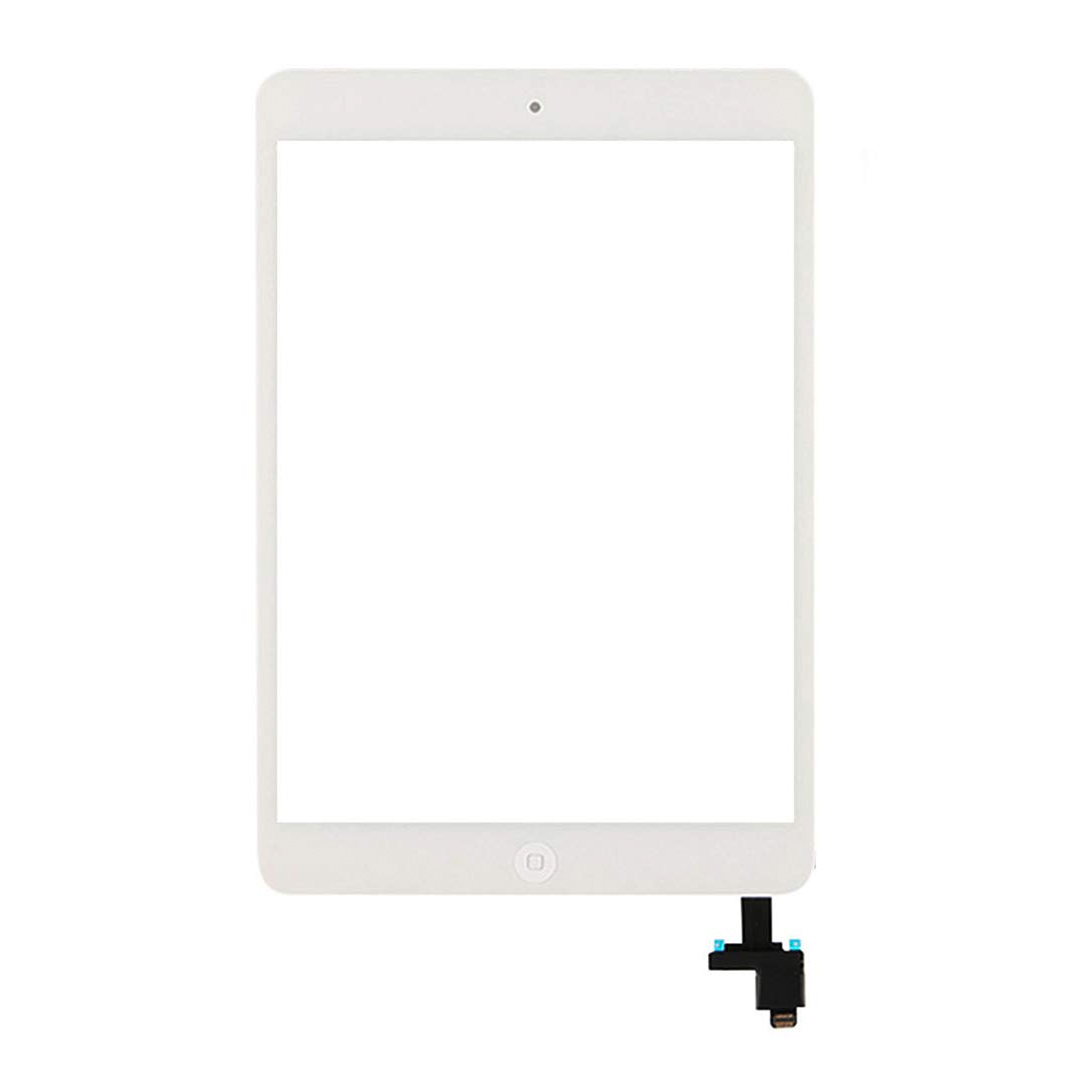 OEM iPad Mini 1, Mini 2 Touch Screen Digitizer with Home button and Glass (white)