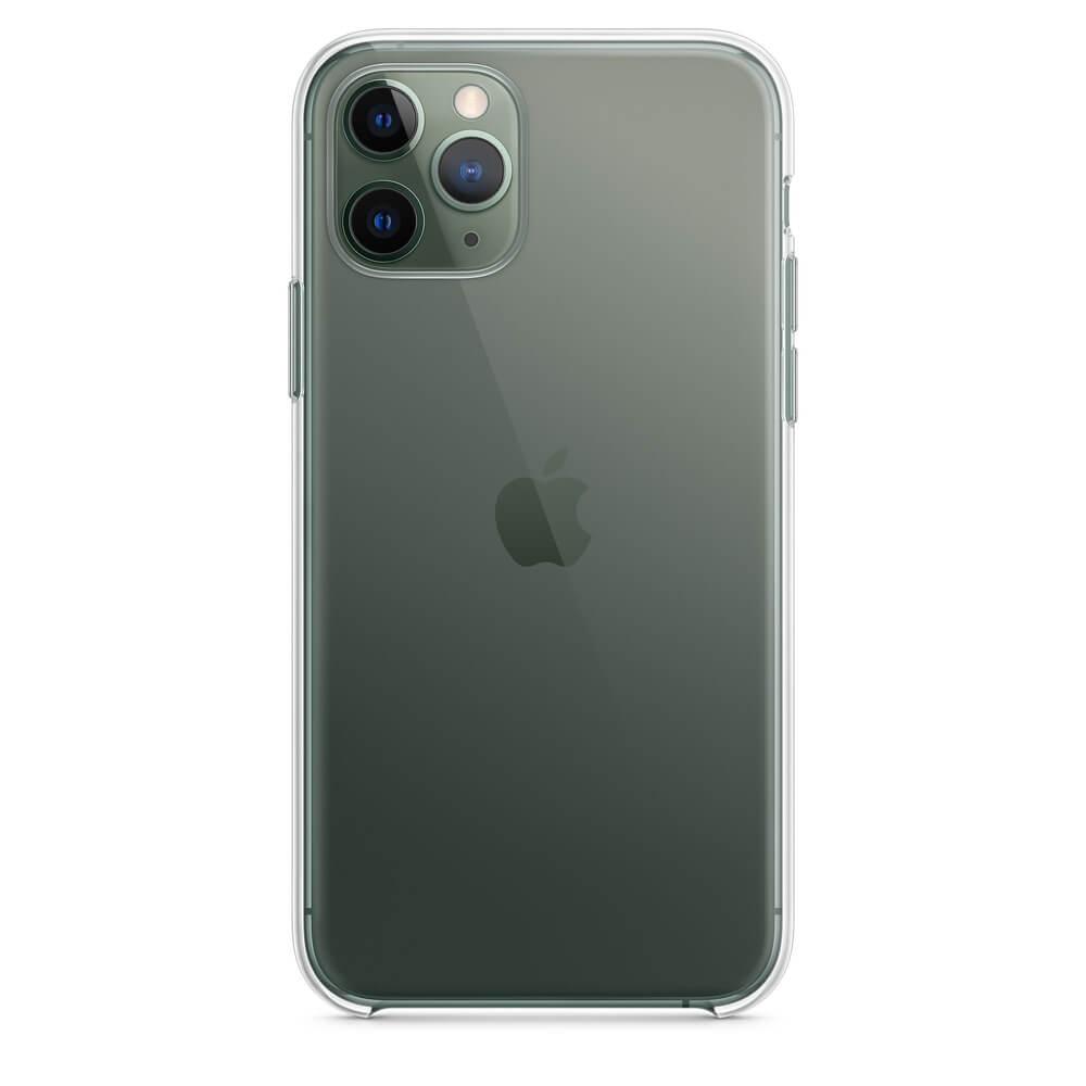 Apple Clear Case - оригинален кейс за iPhone 11 Pro Max (прозрачен)