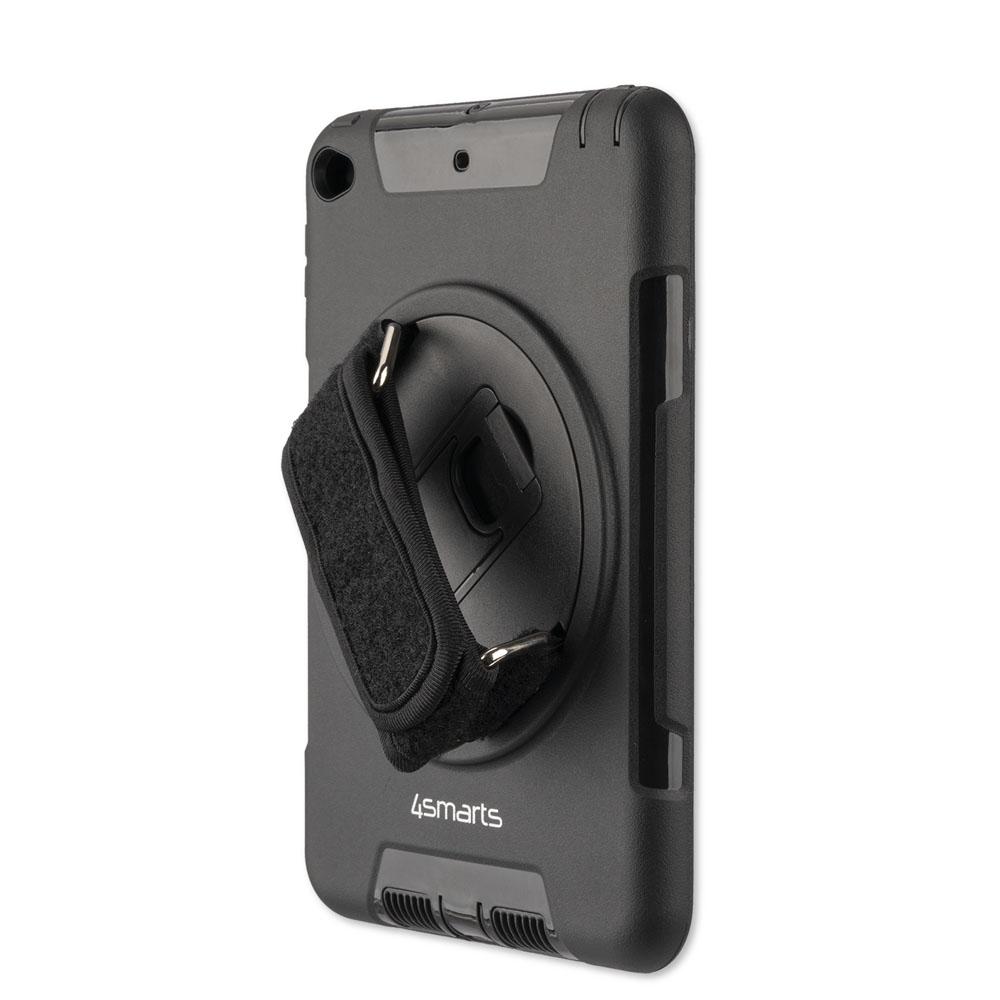 4smarts Rugged Tablet Case Grip - ударо и водоустойчив калъф за iPad Mini 5 (2019) (черен)
