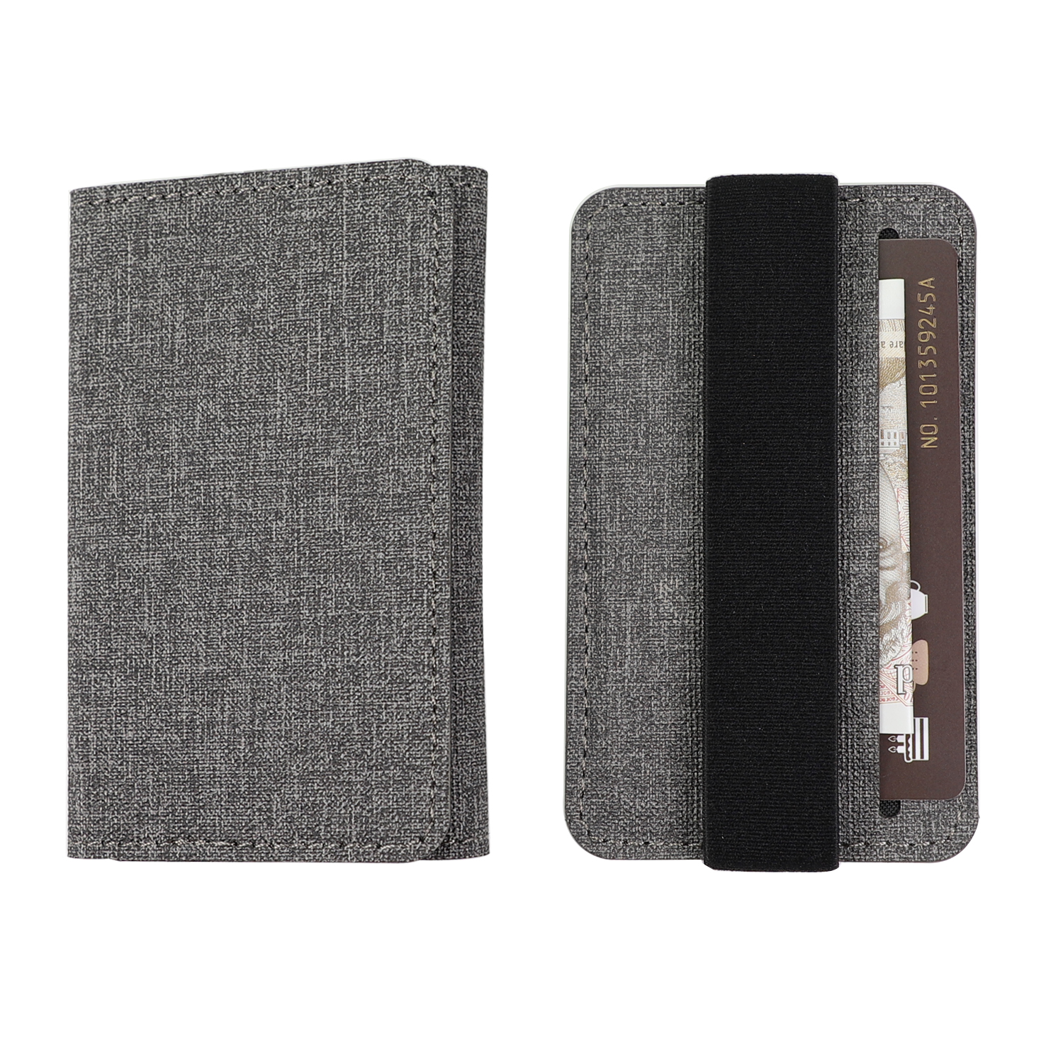 4smarts LAVAVIK Multifunctional Credit Card Holder (grey)