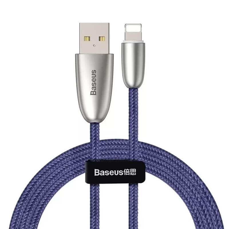 Baseus Torch Lightning USB Cable for iPhone with Lightning connectors (100 cm) (blue)