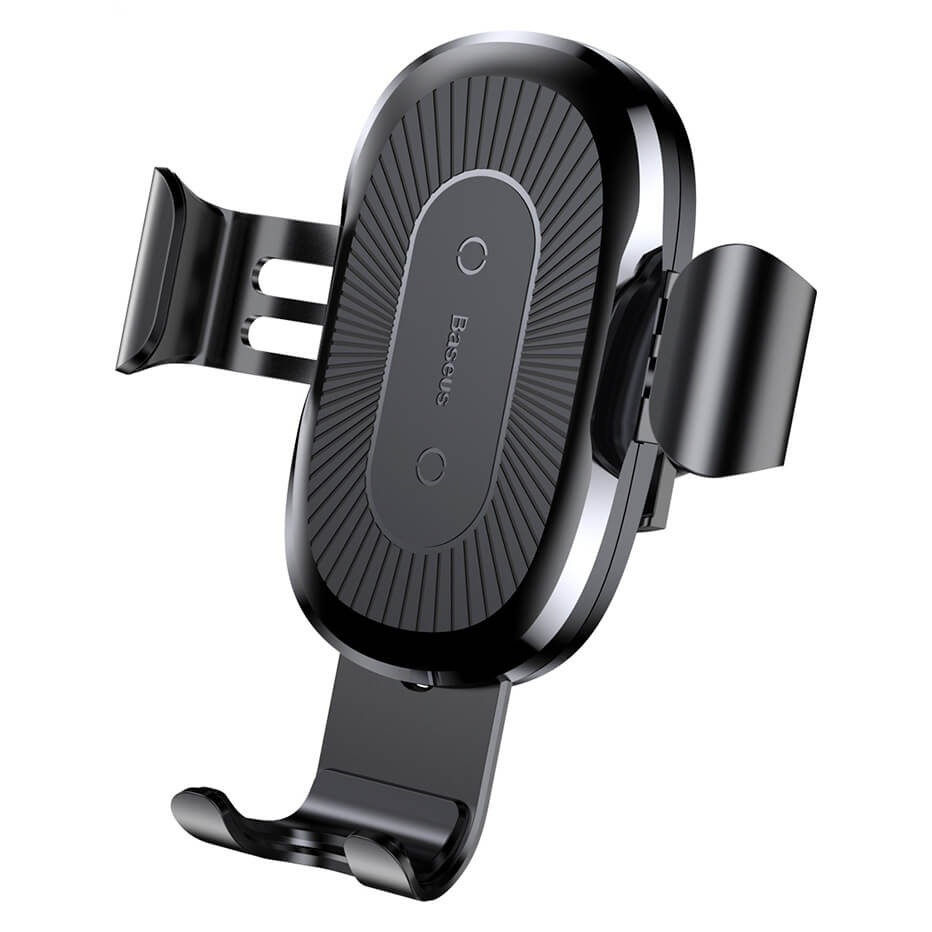Baseus Wireless Charger Gravity Car Mount (black)