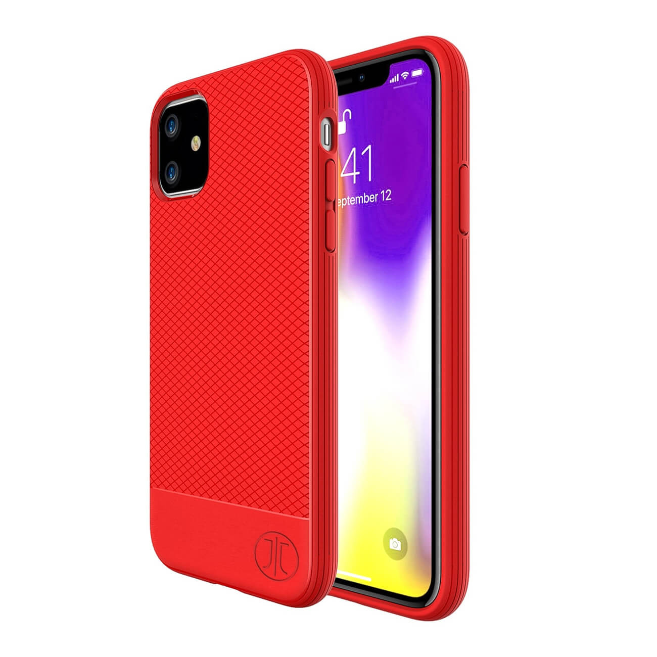 JT Berlin BackCase Pankow Soft for iPhone 11 (red)
