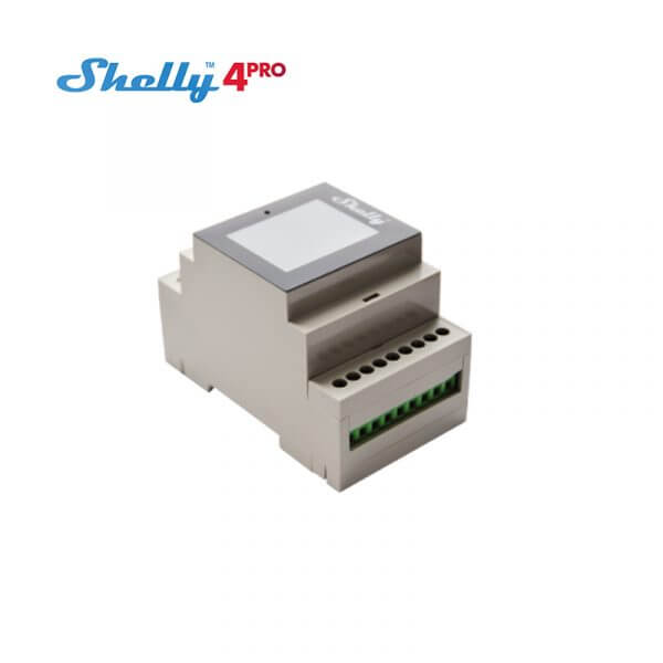 Shelly 4PRO 4 Channels WiFi Connected Relay Switch