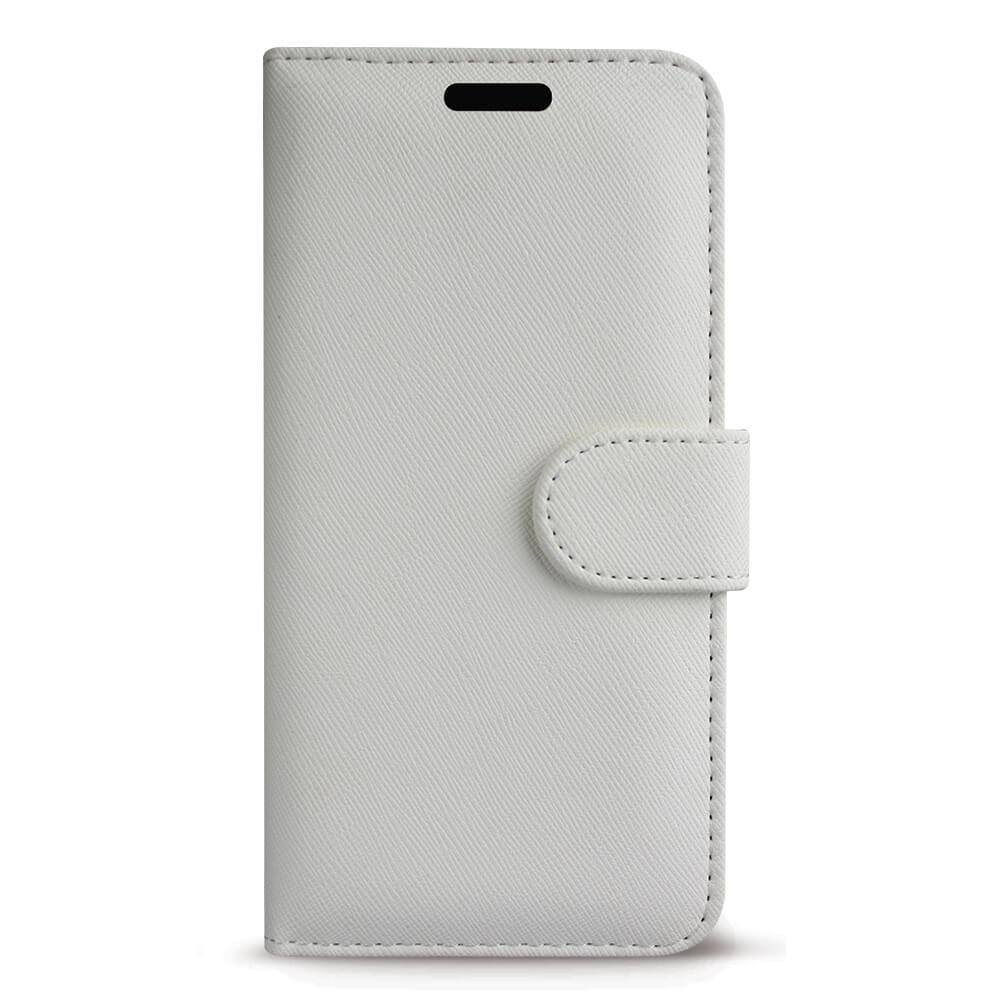 Case FortyFour No.11 Case - кожен калъф с поставка за iPhone 11 Pro (бял)
