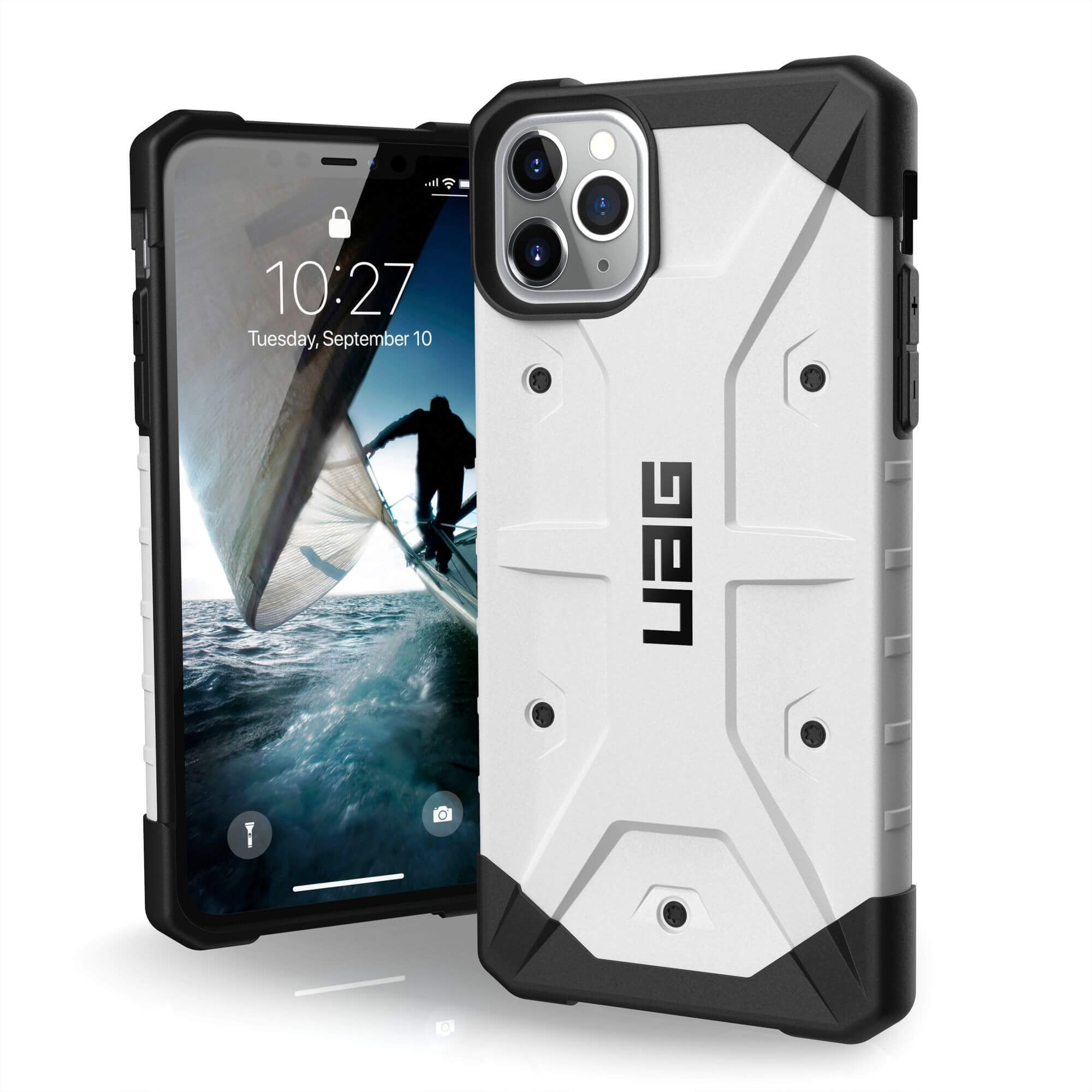 Urban Armor Gear Pathfinder Case for iPhone 11 Pro Max (white)