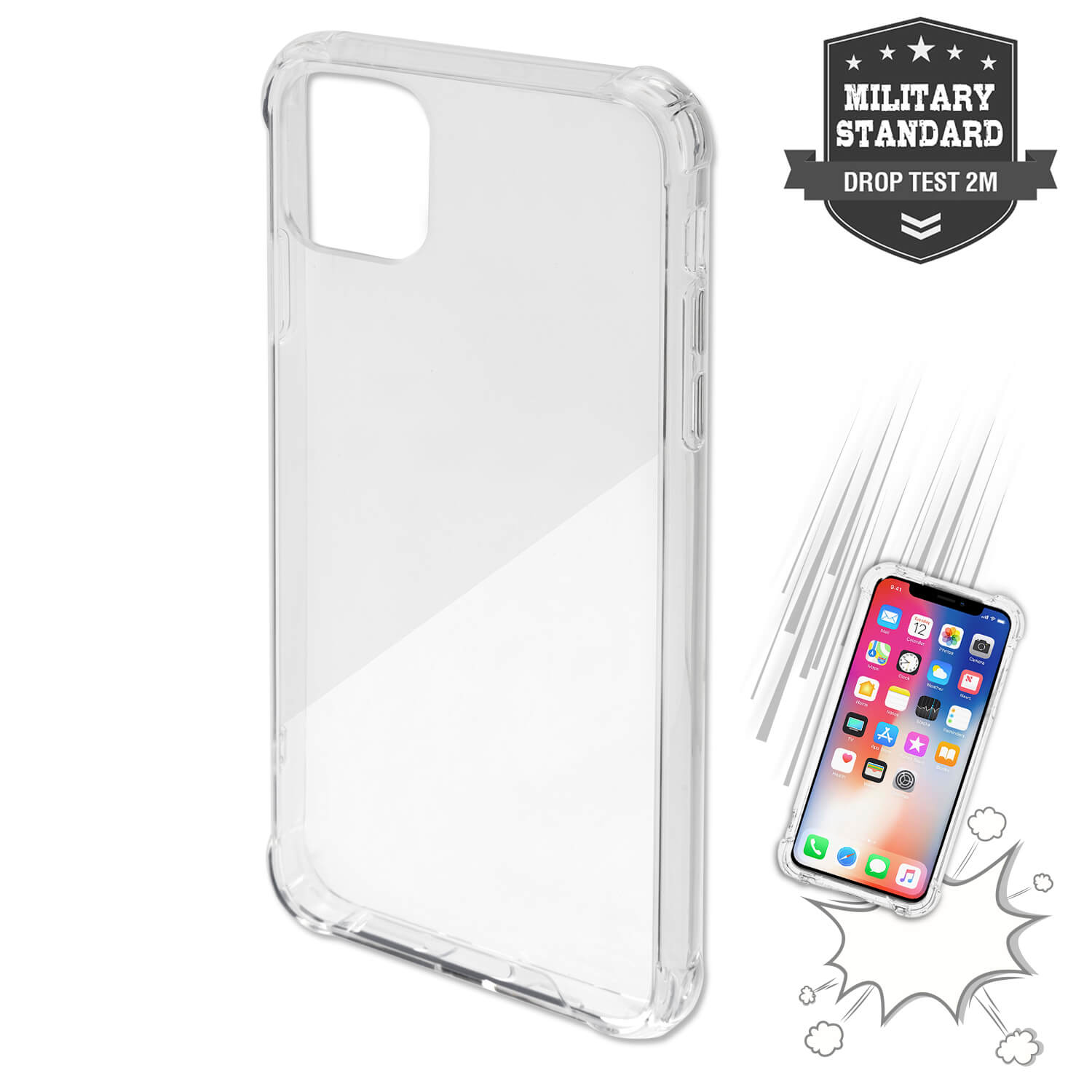4smarts Hard Cover Ibiza for iPhone 11 (clear)