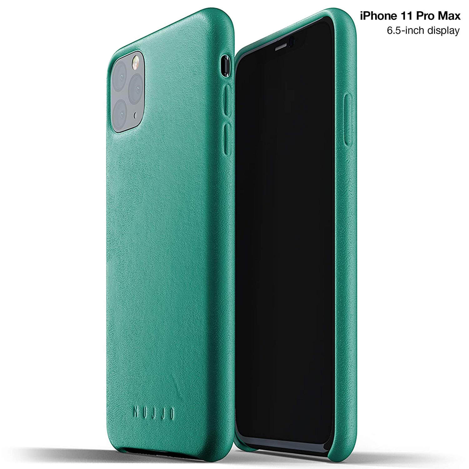 Mujjo Full Leather Case for iPhone 11 Pro Max (alpine green)