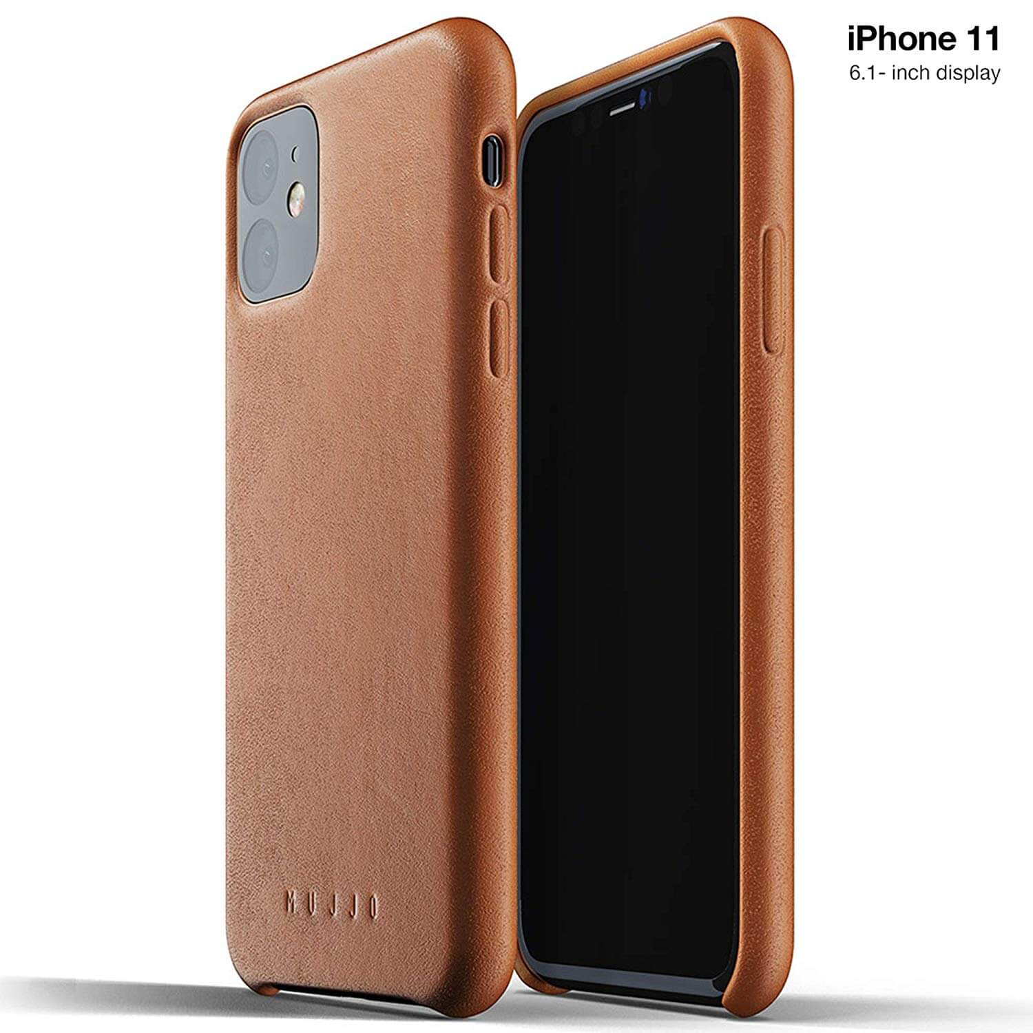Mujjo Full Leather Case for iPhone 11 (brown)