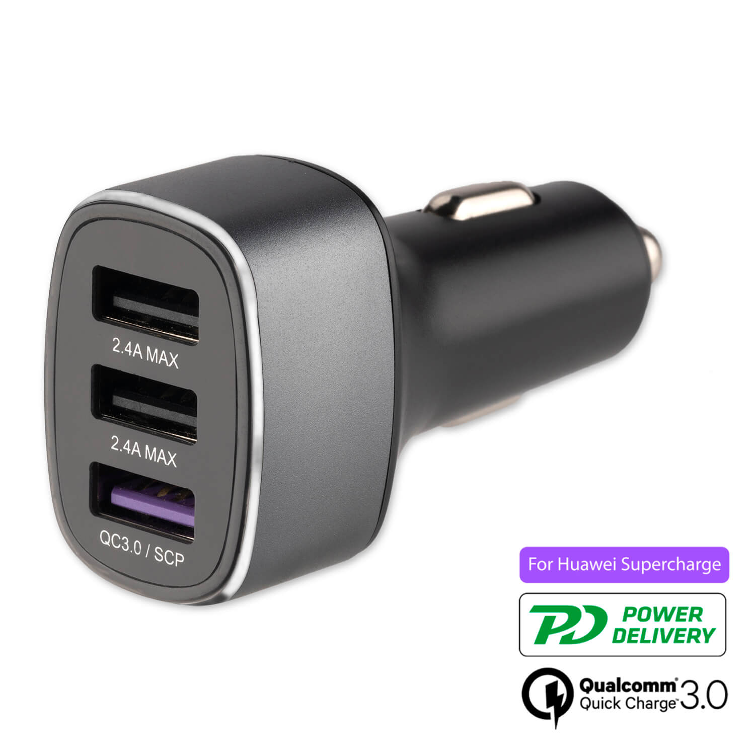 4smarts Fast Car Charger Voltroad 7P+ (grey)