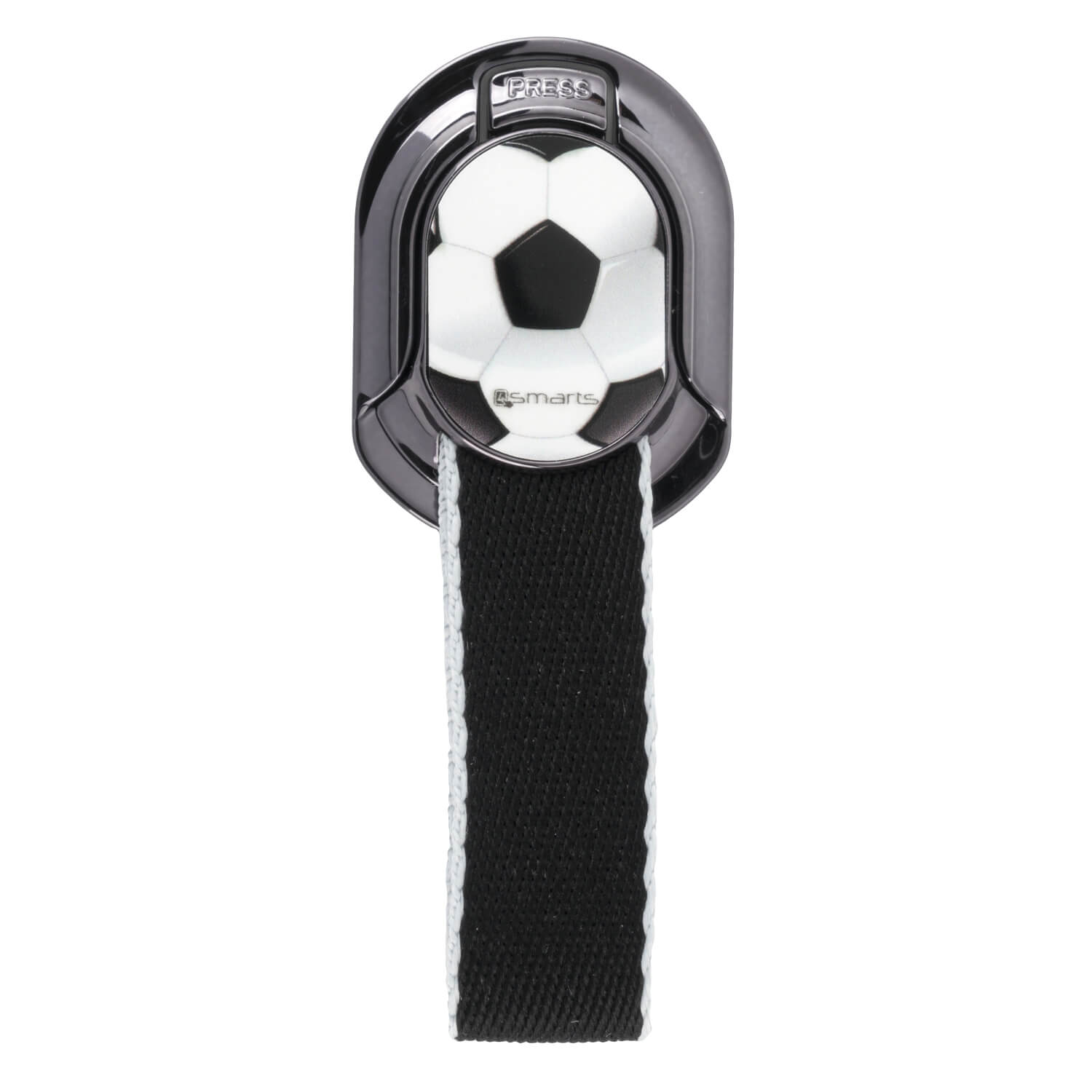4smarts Loop-Guard Finger Strap Football (black)