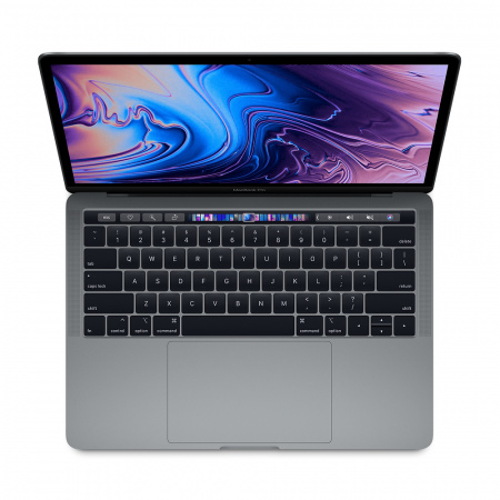 Apple MacBook Pro 13 Touch Bar, Touch ID, Quad-Core i5 1.4GHz, 8GB, 128GB SSD, Intel Iris Plus Graphics 645 (тъмносив) (модел 2019)