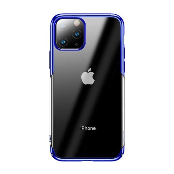 Baseus Glitter Case - поликарбонатов кейс за iPhone 11 Pro Max (син)