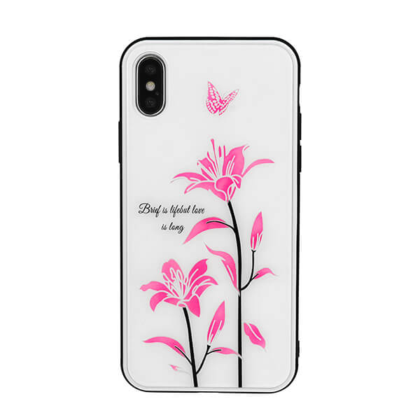 Vennus Magic Case Design 1 for Samsung Galaxy A50 (white)