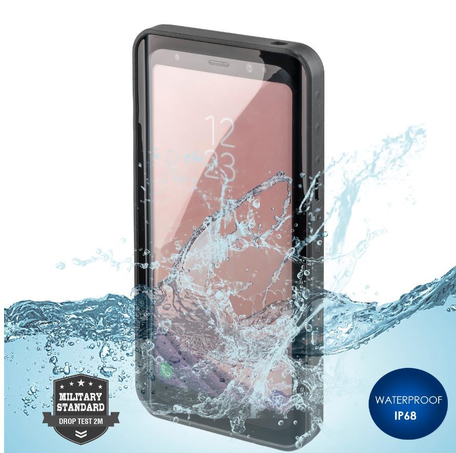 4smarts Rugged Case Active Pro STARK - ударо и водоустойчив калъф за Samsung Galaxy S8 (черен)