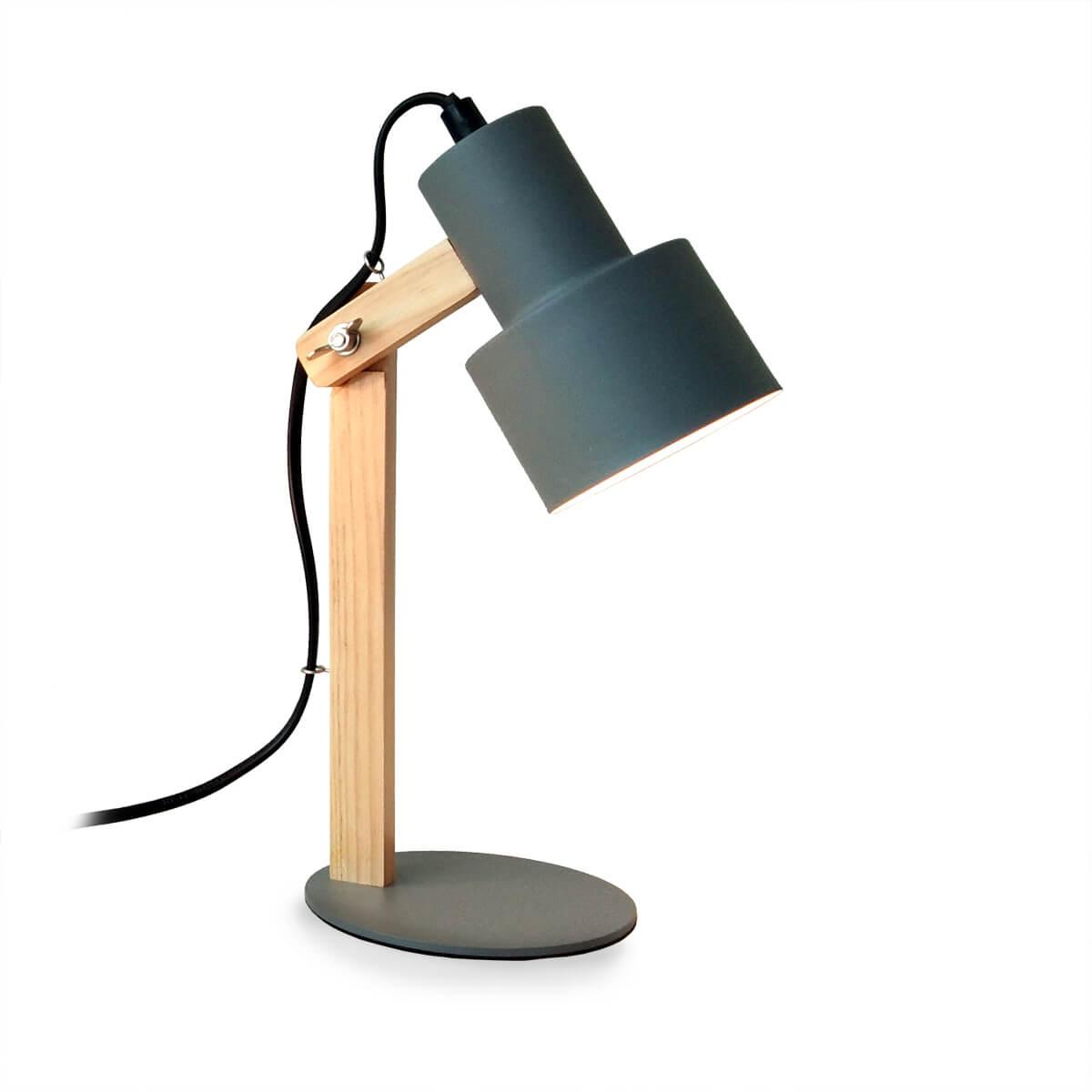 Platinet Desk Lamp 25w E27 Grey Price Dice Bg