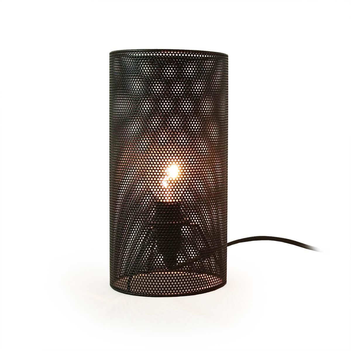 Image of: Platinet Desk Lamp 25w E27 Metal Finish Black Price Dice Bg