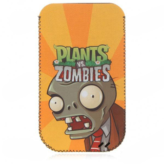 Plants vs Zombies Pattern плетен калъф за iPhone 4/4S