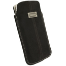 Krusell LUNA POUCH L Nubuck - leather case for iPhone and iPod