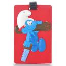 Smurfs Travel Suitcase силиконов бадж