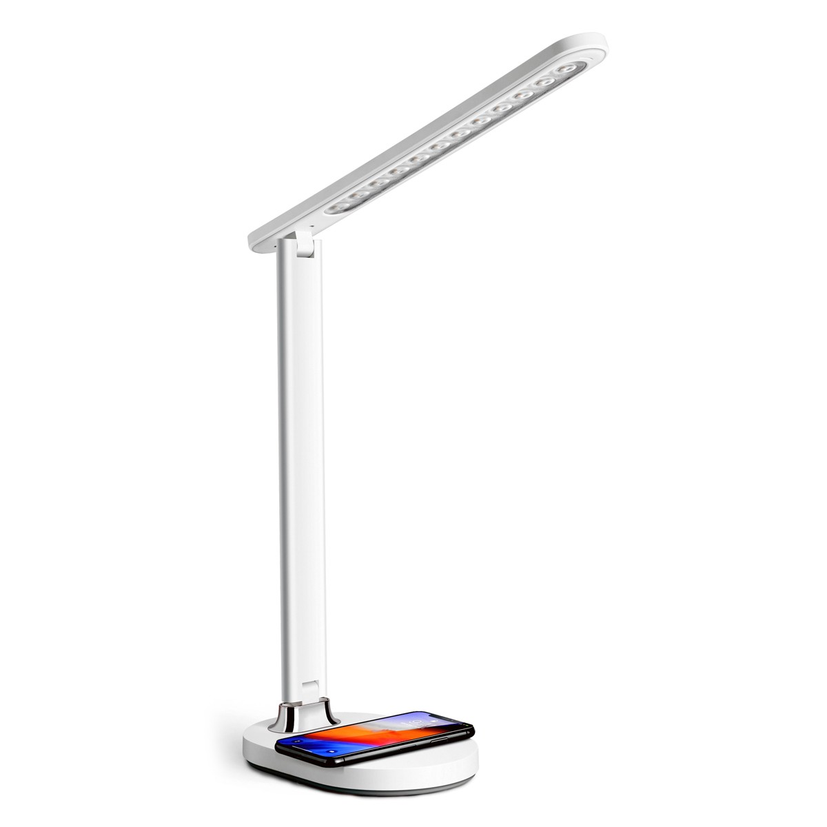 Image of: Platinet Desk Lamp 18w With Wireless Charging White Price Dice Bg