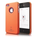 Elago S4 Slim Fit Case Orange - поликарбонатов кейс за iPhone 4/4S (оранжев)