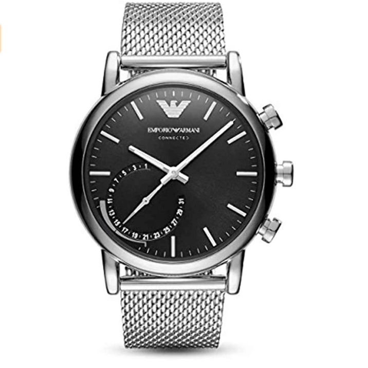 Emporio Armani ART3007 Connected Wrist Watch with Stainless Steel - луксозен умен часовник (сребрист)