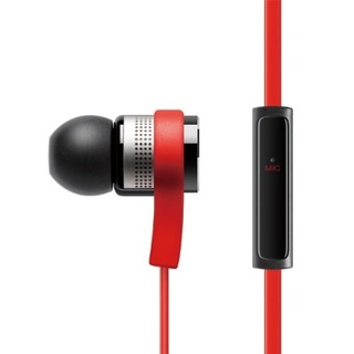 Elago E6M Control Talk In-Ear Earphones - слушалки с микрофон за iPhone, iPad, iPod и мобилни устройства (червени)