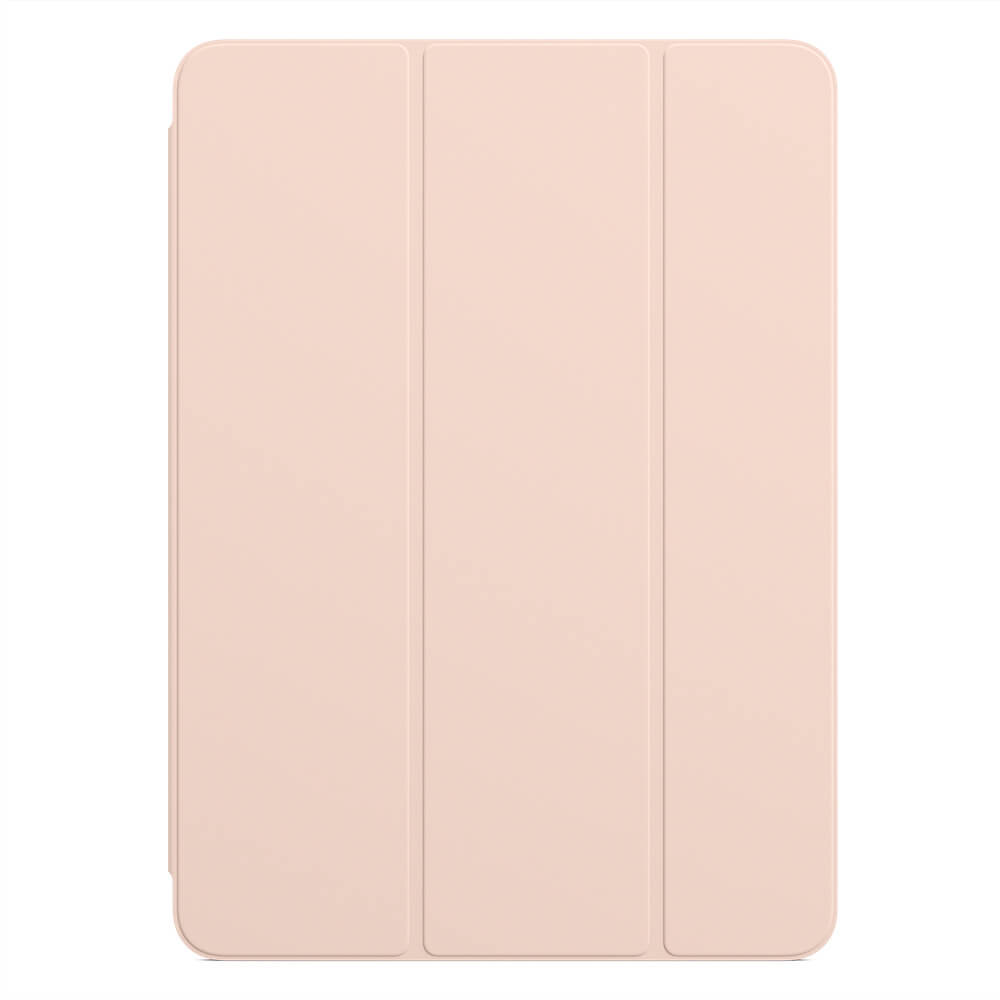 Apple Smart Folio - оригиналнен калъф за iPad Pro 11 (2020), iPad Pro 11 (2018) (светлорозов)