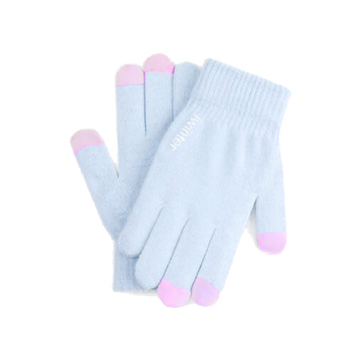 iWinter Gloves Touch Unisex Size S/M - зимни ръкавици за тъч екрани S/M размер (светлосин)