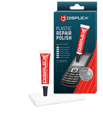 Displex Plastic Polish for mobile phones diplay