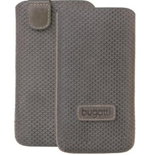 Bugatti Perfect Scale leather case for iPhone 4/4S, Samsung Galaxy S2 i9100, S2+ i9105 (stone grey)