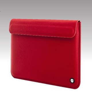SwitchEasy Thins Ultra Slim Sleeve for Apple MacBook Air 13 in. (red)