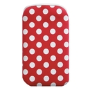 Pat Says Now Red Polka Dot - неопренов калъф за iPhone 4/4S