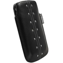 Krusell KALIX mobile pouch - leather case Samsung Galaxy S2 i9100 and mobile phones (black)