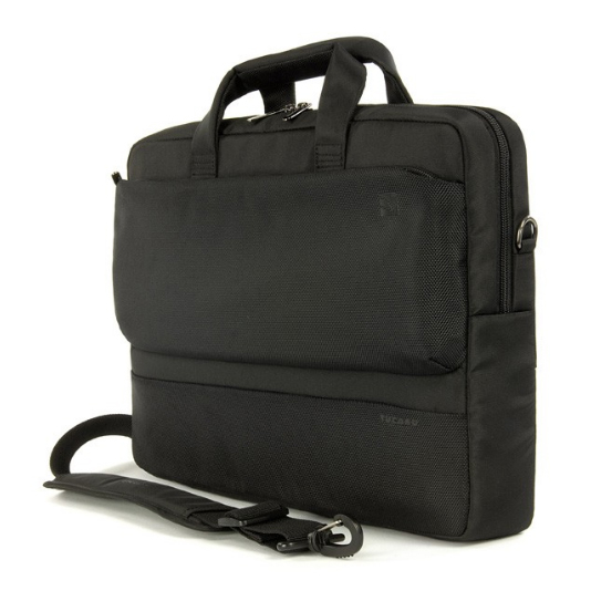 Tucano Dritta Slim - чанта за MacBook Pro и мобилни устройства до 17 инча (черен)