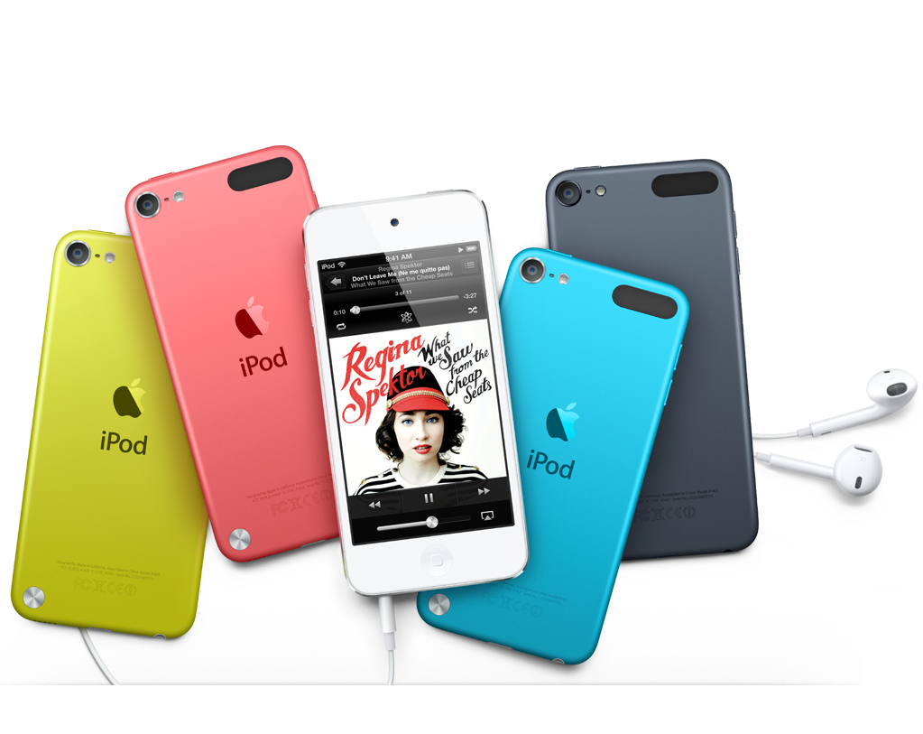 Ipod Touch 5th Generation White And Silver