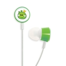 Gear4 Stereo Headphones Angry Birds Tweeters - слушалки за iPhone и мобилни устройства (зелен)